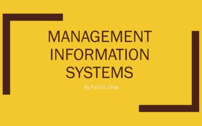 Management Information System and Earning potential